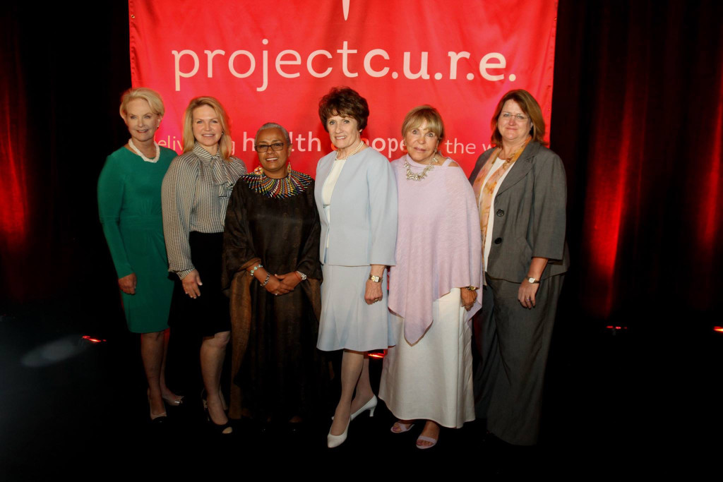 Bonnie Bishop with Kenya First Lady and honorees at First Ladies Initiative Luncheon