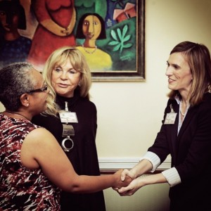 FOA Founder & Chairman Introduces Kenya First Lady to Project C.U.R.E. Exec. Director, Katie Mabardy